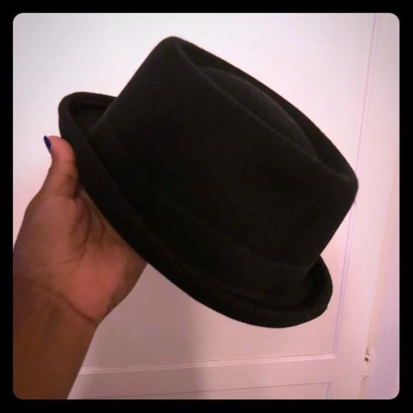 72c52230491 ASOS Accessories - ASOS black pork pie hat
